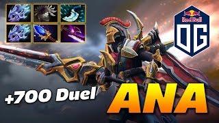 ANA Legion Commander +700 Duel Damage   Dota 2 Pro Gameplay