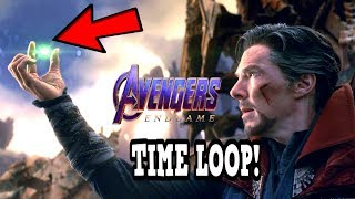 Avengers 4 EndGame TIME LOOP IS HOW T0 DEFEAT THANOS! Doctor Strange's EndGame Is The FUTURE!