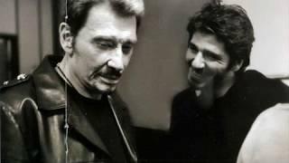 Johnny Hallyday & Patrick Fiori - Je viendrai te chercher  (+ Paroles) (yanjerdu26)