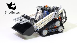 Lego Technic 42032 Compact Tracked Loader - Lego Speed build