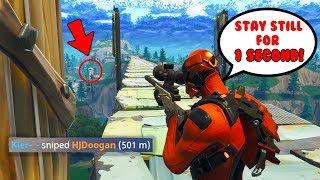 501m snipe in Fortnite... 😱