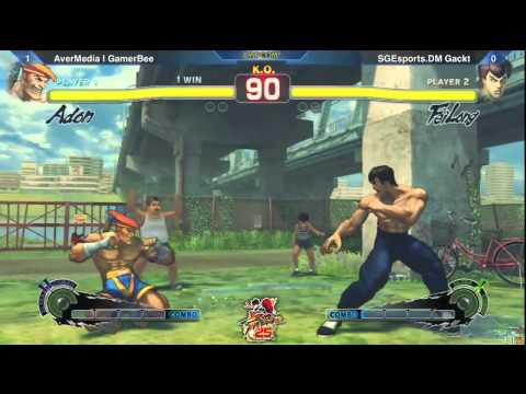 SSF4: AverMedia | GamerBee vs SGEsports Gackt - Losers Semis - SF 25th Asia Qualifier