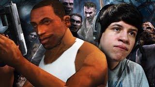 CJ CAPOTANDO GANADOS! - Resident Evil 4