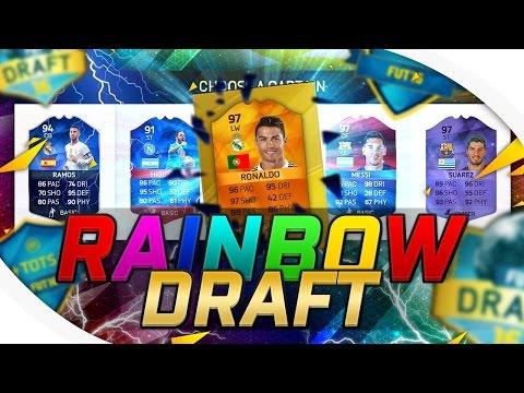 RAINBOW DRAFT | FIFA 16!