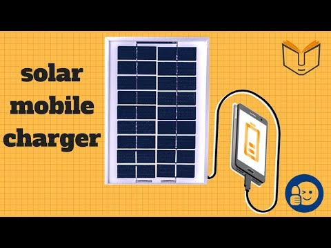 How to make solar mobile charger at home || Science Project