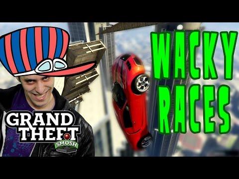 Wacky Wall Race In Gta 5 (grand Theft Smosh) video