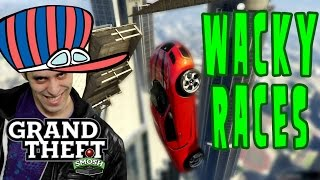 WACKY WALL RACE IN GTA 5 (Grand Theft Smosh)