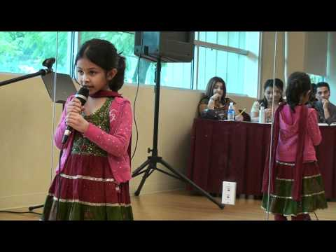 Jiya Singing Nani Teri Morni At Icc Kids' Karaoke Competition video