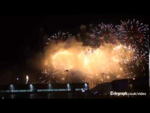 2014 Sochi Winter Olympics fireworks display