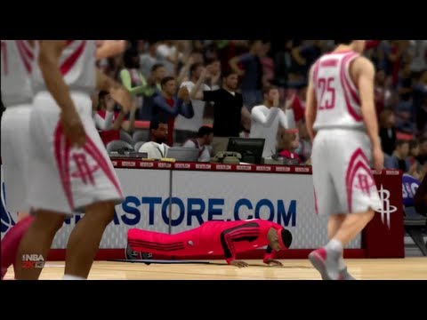 NBA 2K13 MyCAREER - How To Get Easy Assists On Pick & Rolls   The Pay-Back Game VS. Rockets