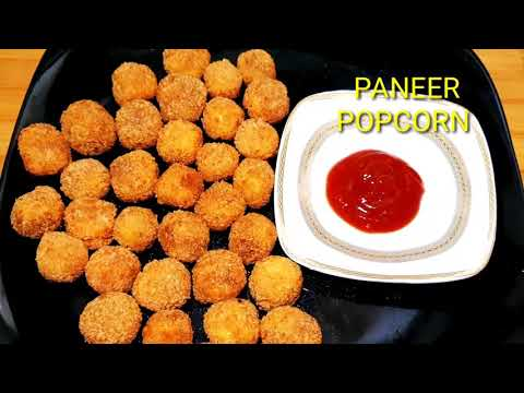 Paneer Popcorn Recipe | Quick Starter | paneer Snacks Recipe