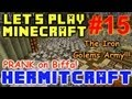 HermitCraft Minecraft LP Ep. 15 - Prank on Biffa - Iron Golem Army!!