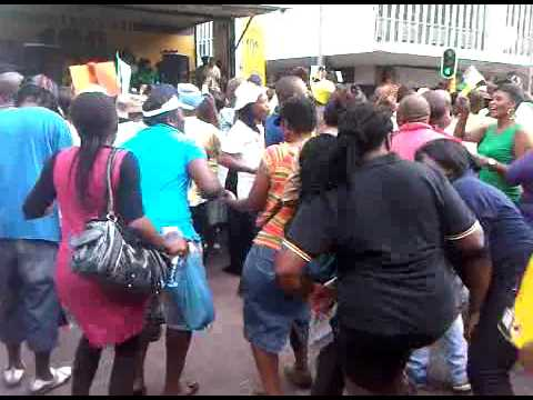 Mini-skirt march in Johannesburg 3