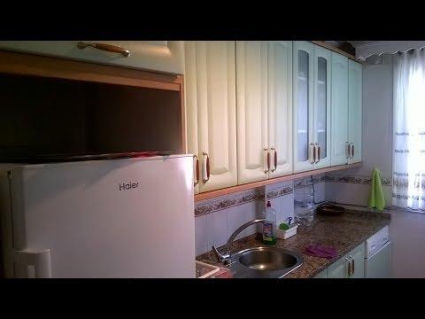 Как выглядит кухня в испанской квартире.
