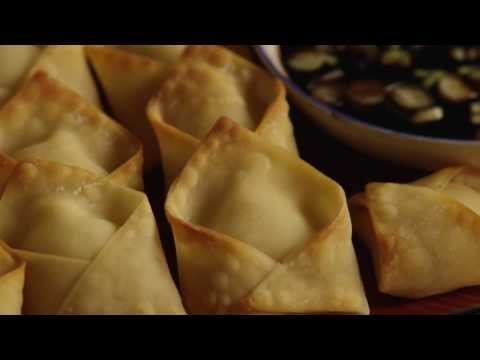 Appetizer Recipes   How To Make Crab Rangoon