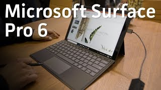 Microsoft Surface Pro 6 hands-On