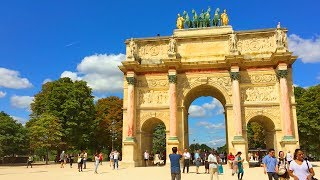 PARIS WALK | Tuileries Garden incl. Arc de Triomphe du Carrousel | France