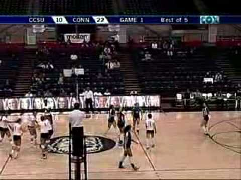 Mark Brown calls play-by-play on Women's College Volleyball Video