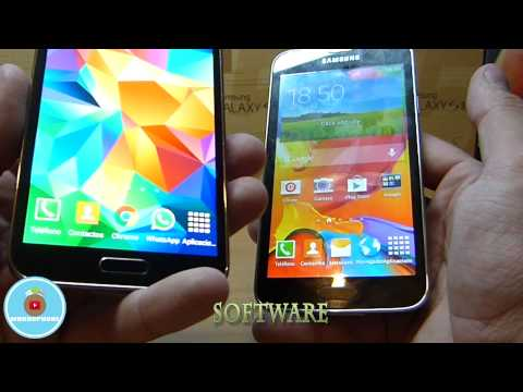 SUPER CLON DEL GALAXY S5 VS EL ORIGINAL. COPIA 1:1. [COMPARATIVA EN ESPAÑOL]