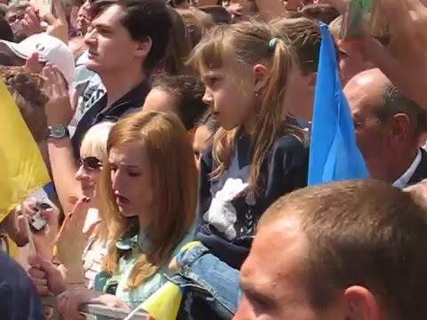 Петро Порошенко на проводах збірної України