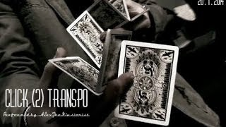 Click (2) Transpo// Two card mont // Performed by Alex The Illusionist//
