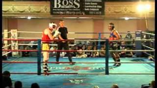 Ameture Kickboxing fight