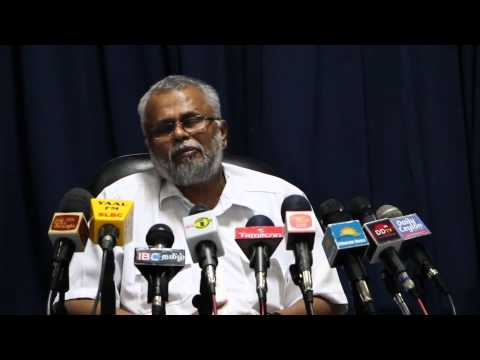 Media conference with K.N.Dules Devananda (E.P.D.P) in Jaffna on 14th July 2015 Press-02