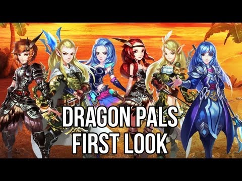 Dragon Pals (Free MMORPG): Watcha Playin'? Gameplay First Look