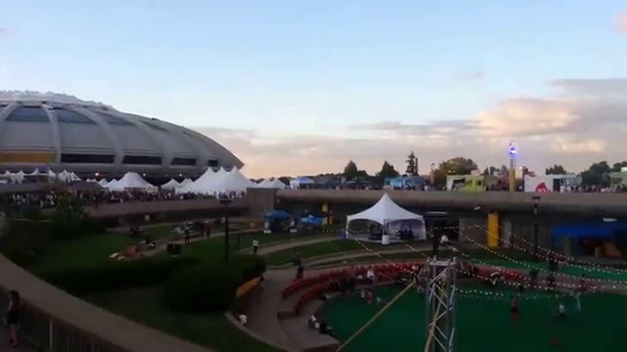 Montreal Street Food Olympic Stadium Montreal Olympics Stadium And