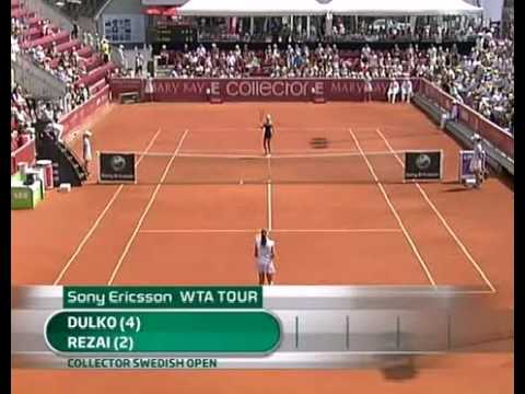 2010Bastad Final:Gisela Dulko v Aravane Rezai Video