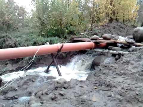 Микро ГЭС на Колбаусе Турочак Горный Алтай