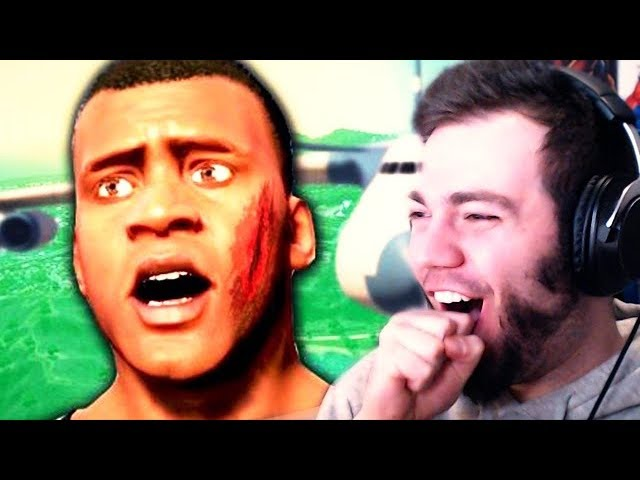 EPIC GTA 5 FAILS DON'T LAUGH CHALLENGE | ZellenDust