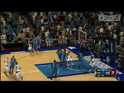 Dallas Mavericks v Oklahoma City Thunder | NBA Playoffs 2012 Highlights | CPUvCPU