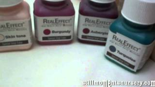 Real Effects air dry paints - Nikki Holland vlog #39