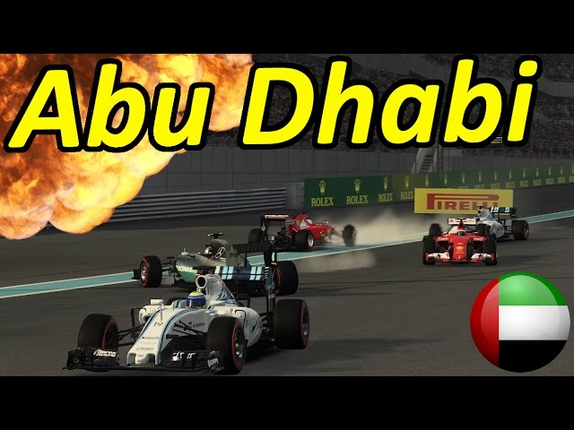 F1 2015 Abu Dhabi Grand Prix: Last to First!