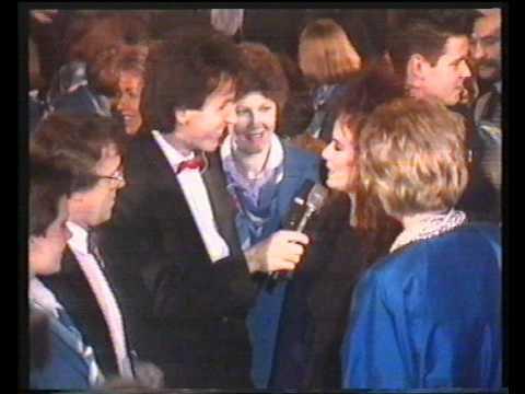 Erik van der Hoff bij de premiere van Dutch Treat 1987