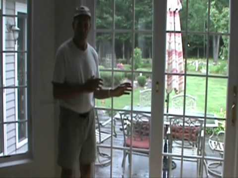 How To Make A Sliding Door Security Bar Youtube