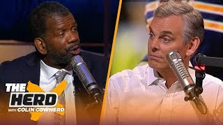 Patriots are lucky not great, Mitch Trubisky will get better — Rob Parker | NFL | THE HERD
