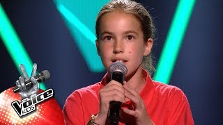 Elisabeth 39 Call Out My Name 39 Blind Auditons The Voice Kids Vtm
