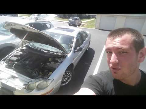 Alternator Remove Replace 02-04 Chrysler 300M