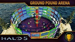 Halo 5 Custom Game : Ground Pound Arena