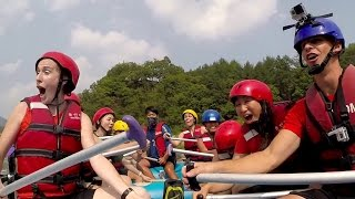 [Rafting + Cliff Jumping in Korea - GoPro HD] Video