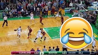 LOL Moment: Rajon Rondo CHOKES vs Cavs - 11-14-2014