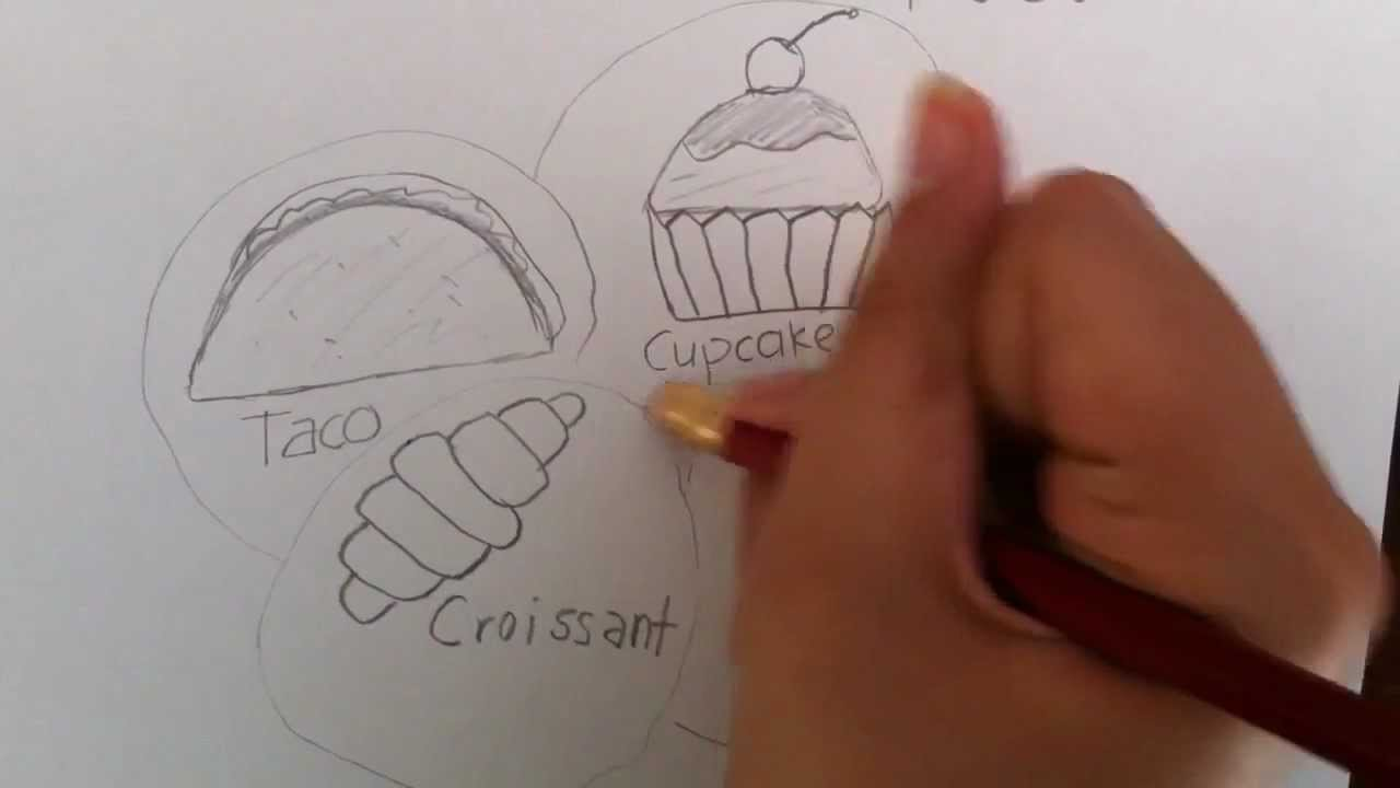 Unhealthy Foods Drawing How to Draw Food