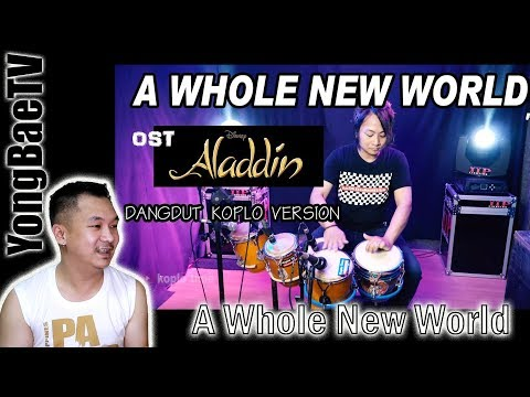 Download A Whole New World OST Aladdin Dangdut Koplo Version | Reaction | YongBaeTV Mp4 baru