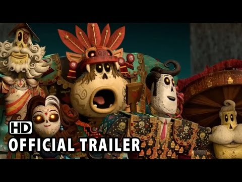 The Book of Life Official Trailer #2 HD - Zoe Saldana, Channing Tatum Animation Movie HD