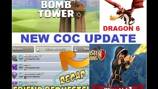 CLASH OF CLANS new UPDATE | defence, friend requests, arranged wars, troop levels and more