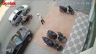 Trộm xe SH trong vài giây