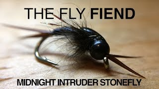 The Midnight Intruder Stonefly Fly Tying Tutorial | The Fly Fiend.