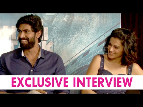 EXCLUSIVE interview with The Ghazi Attack team   Rana Daggubati and Taapsee Pannu thumbnail